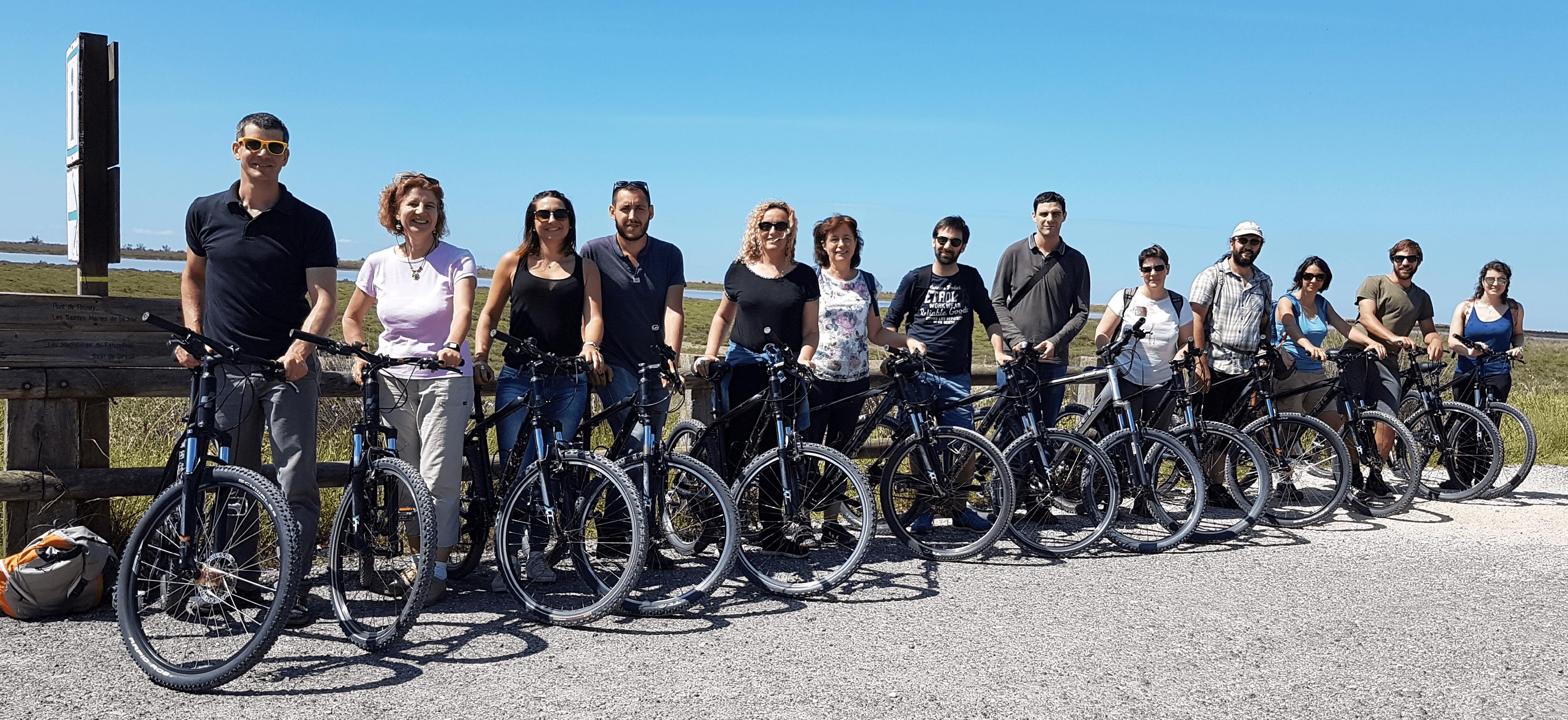L'équipe à vélo